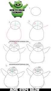 Learn How To Draw Leonard The