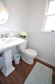 Make A Small Bath Look Larger Pin Antique Kitchen Design - Half bathroom remodel ideas