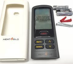 heat glo model rc300 intellifire plus multifunction remote control