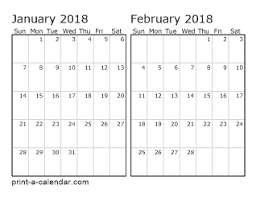 printable calanders download 2018 printable calendars