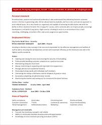 Resume For Managerial Position Retail Assistant Manager Resume Retail Assistant Manager