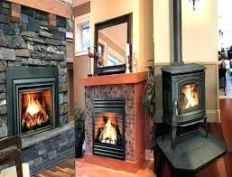 gas fireplace insert installation gas fireplace installers install direct vent
