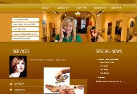 Hair Saloon Websites Hair Salon Website Design Lease To Own Websites