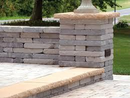 chapel stone garden walling pillar caps