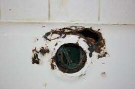 bathtub rust hole repair refinishing