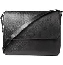 gucci bags mens. gucci men diamond patterned leather messenger bag bags mens