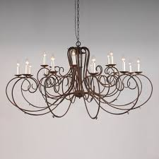 the clifton 18 arm wrought iron chandelier