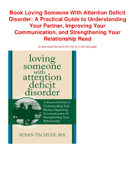 Book Loving Someone With Attention Deficit Disorder A