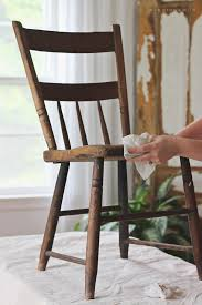 painted chair for outdoors love grows