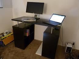 standing office desk ikea. White Metal Standing Working Desk Office Ikea B