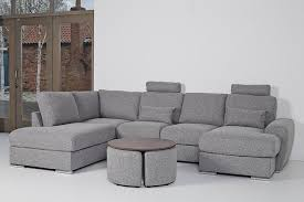 Infinity Corner Sofa with Left Hand Facing Chaise, 2 Small Middle Seats,  Corner Seat and Long Right - Corner Sofas - Furniture World