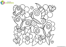 Kleurplaten Van Bloemen In Bloemen Kleurplaat Printen Kleurplaat