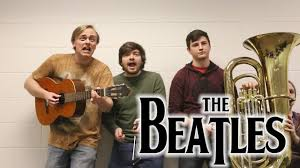 listening to the <b>beatles with</b> only one headphone - YouTube