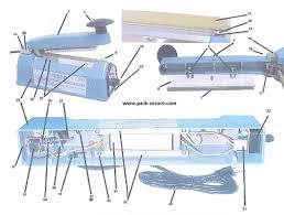 mp 12 parts mp 12 mp 12 hand sealer midwest pacific parts impulse sealer circuit diagram at Heat Sealer Wiring Diagram