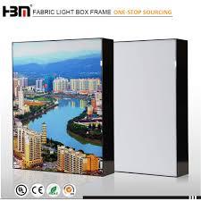 Aluminium Frame Led Light Box Exhibition Trade Show Signage Aluminum Frameless Seg