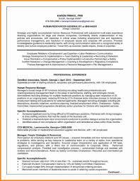 Resume With Salary History Sample On Resumecopy Human Resource