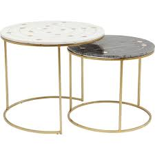 side table mystic round small 2 set