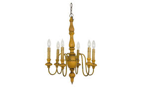 vintage wood chandelier loading zoom