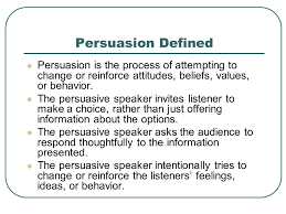 speaking to persuade appendix b sample speech ppt video 3 persuasion