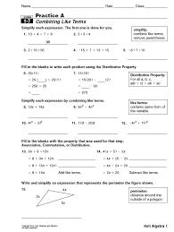 Holt Mcdougal Mathematics Worksheets Worksheets for all   Download ...