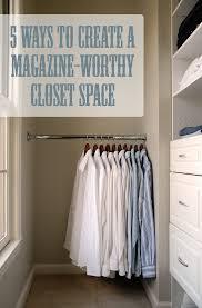 diy closet rod. 5 Ways To Create A Magazine-Worthy Closet : Via Living Rich On Less Diy Rod D
