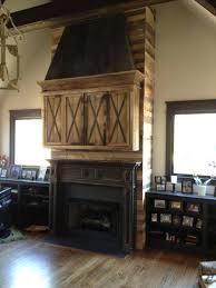 fireplace hood cast iron custom made installation mantle a cabinet reclaimed wood zinc canopy hoods home