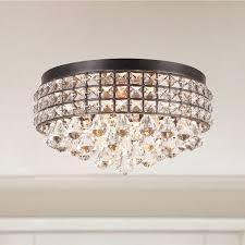 brilliant foyer chandelier ideas. jolie iron shade crystal flush mount chandelier by the lighting store brilliant foyer ideas s