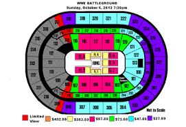 1st Niagara Center Seating Chart War Games Match Unlikely For Wwe Battleground Ppv