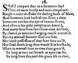 sonnet essays on shakespeare s sonnets shakespeare sonnet 18