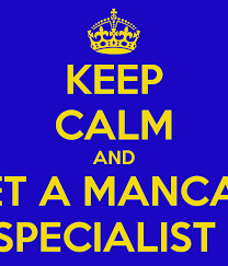 Keep Calm And Let A Mancan Staffing Specialist Handle It Poster