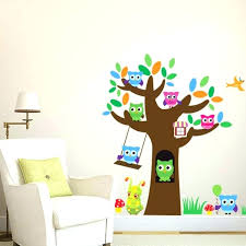 decorative wall borders baby room borders owls tree wall sticker decal lovely sugar baby wall art decorative wall borders