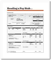 Free Printable Pay Stubs Online Sandraanggraini Com