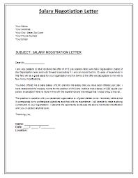 Salary Negotiation Email Salary Negotiation Email Example Letter Easy Imagine Plus