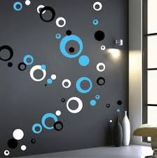 Small Picture Contemporary Rings Dots Wall Decals Trendy Wall Designs