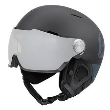Bolle Might Visor Premium Ski Snowboard Helmet L Matte Black Grey
