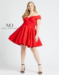 48887f Mac Duggal Plus Size Dress