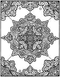 Kleurplaten Mandala Herfst