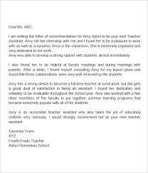 4th Grade Teacher Resume Cover Letter For Educational Assistant Cover Letter Example For