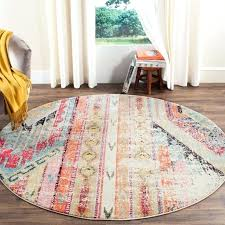 5 round area rug ft rugs cute blue as or 6 x 7 cozy and