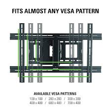 Vesa Mounting Pattern Gorgeous SANUS Classic FullMotion Wall Mount For 4848 TVs