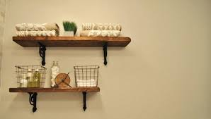 image of bathroom shelves design wooden wall nantucket white wood shelf how to add the storage