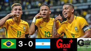 ملخص مباراة البرازيل و الأرجنتين فوز ساحق للسامبا 3-0 🔥🔥🔥 - YouTube