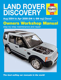 haynes discovery 3 owners workshop manual paddock spares haynes discovery 3 owners workshop manual