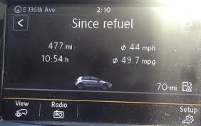 Volkswagen Tdi Mpg 2015 Vw Golf Tdi Crushes Fuel Economy Ratings The Fast Lane Car