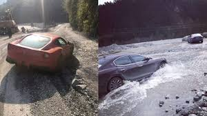 Ferrari Maseratis Trashed In Chinese Off Road Adventure Autoblog
