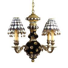 black tie chandelier mackenzie childs lamp shades