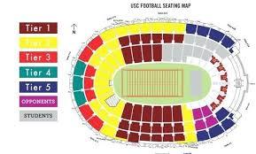 Usc Stadium Seating Rams Seating Guide Memorial Coliseum