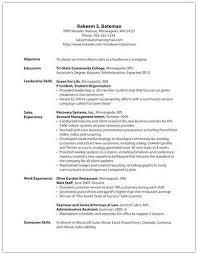 Leadership Skills Resume Example Good Resume Format