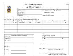 Per Diem Expense Form And Per Diem Receipt - Ondy Spreadsheet
