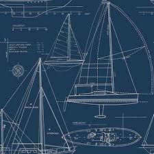 architecture blueprints wallpaper. Yacht Blueprint Wallpaper , YC61312 Architecture Blueprints